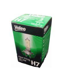 Bec auto cu halogen pentru far Valeo H7 12V 55W PX26d Aqua Vision