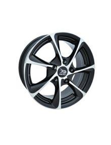 JANTE VW GOLF, Passat, SKODA, Audi MEGA DRIVE 508, 6.5X15 PCD 5X112 NEGRU CROMAT